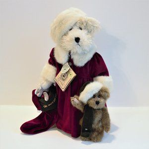 Boyds Bear Set Tasha B. Frostbeary - New in Box